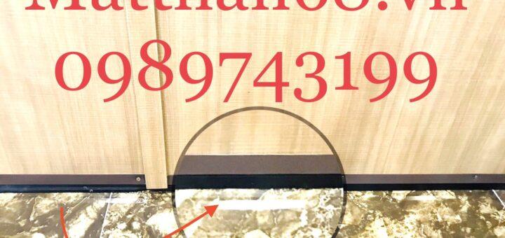Thanh ngăn gió bụi tiếng ồn cho cánh cửa hiệu quả. Thanh ngăn Bụi, ngăn nước, ngăn côn trùng xâm nhập.